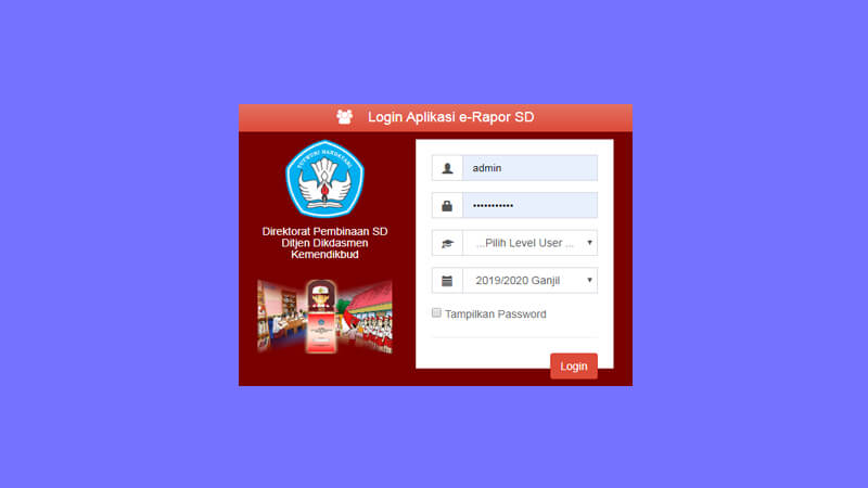 download aplikasi erapor sd beserta panduan penggunaannya