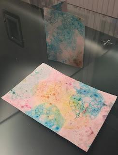 Peinture à bulles