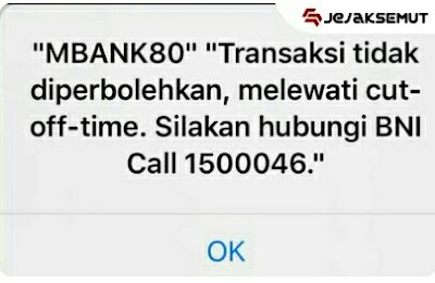 error MBANK 80 bni