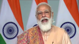 PM Modi unveiled 'Statue of Peace'