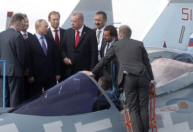 Η Άγκυρα βρίσκεται κοντά σε συμφωνία με τη Μόσχα για αγορά μαχητικών Su-35