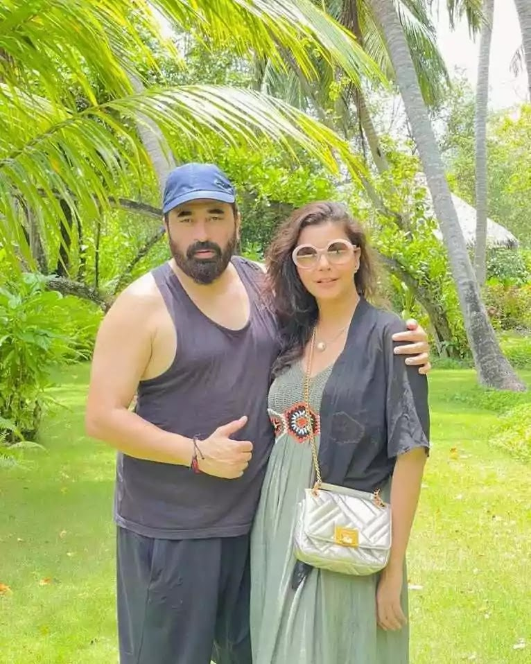 Nida Pasha Enjoying Holidays With Husband Yasir in Maldives