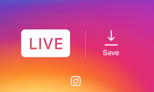 Instagram Now Lets You Save Live Videos to Your Phone