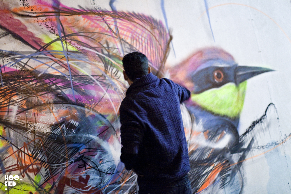 Brazilian Street Artist L7M's London Mural