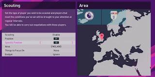 6 Kategori Scouting dalam Master League PES