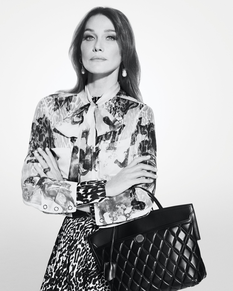 Carla Bruni stars in Burberry Holiday 2019 campaign