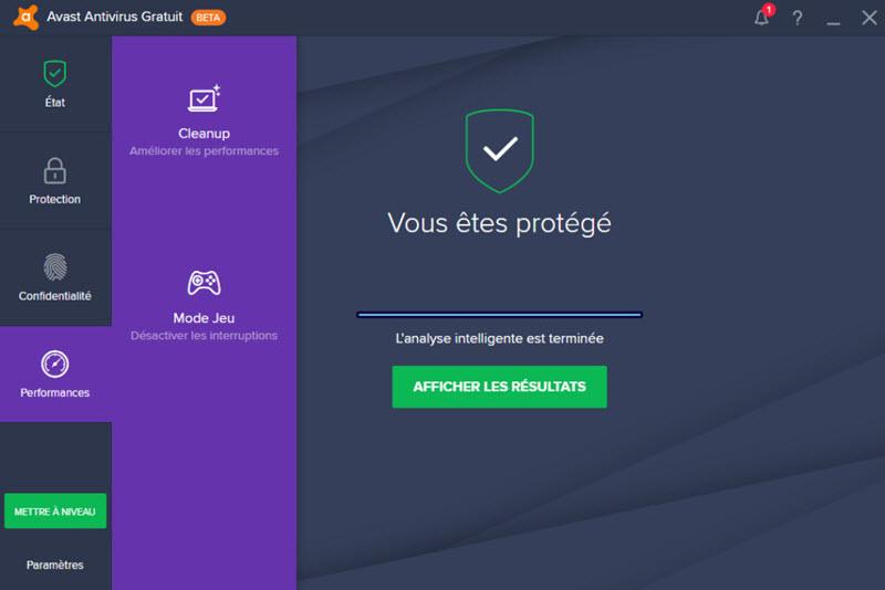 برنامج Avast لمكافحة الفيروسات على نظام ماك