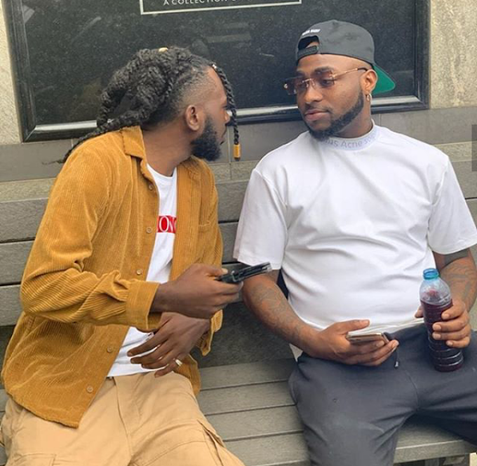 Davido sign MAY D to his DMW record label