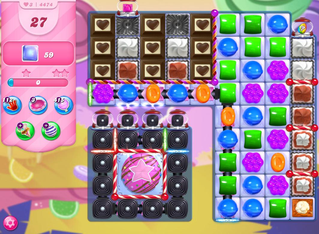 Candy Crush Saga level 4474
