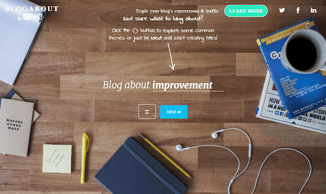 7 Best blog title and idea generator tools online