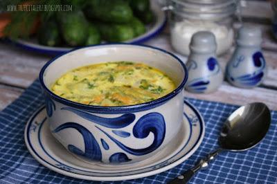 Zupa ze świeżych ogórków - kuchnia podkarpacka