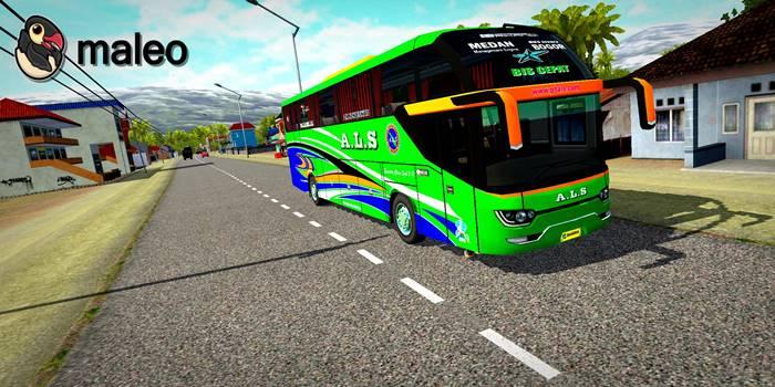 download livery bussid srikandi shd sumatera