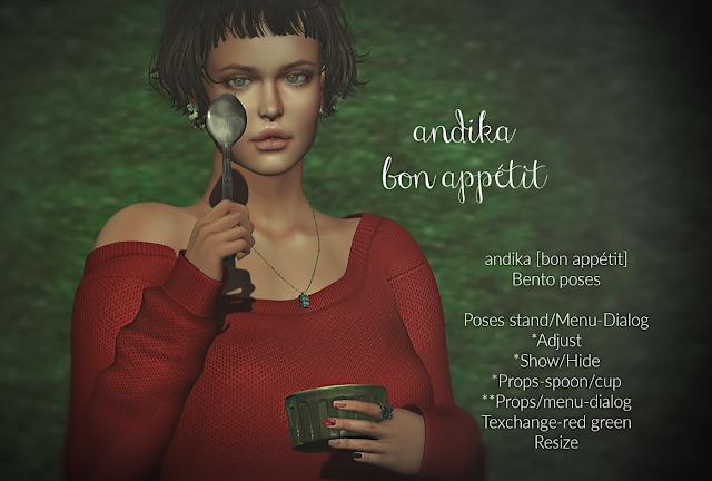 andika [bon appétit]・・・
