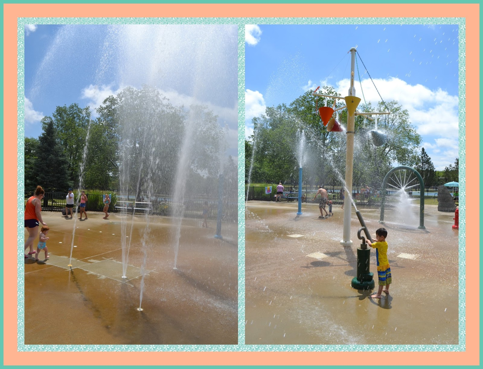 Clintonwood Spray Park In Clarkston ⋆ Metro Detroit Mommy