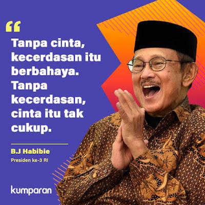 quote inspiratif BJ Habibie