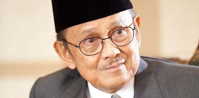 Belum Ada Pejabat Yang Berkunjung, BJ Habibie Ditemani Keluarganya