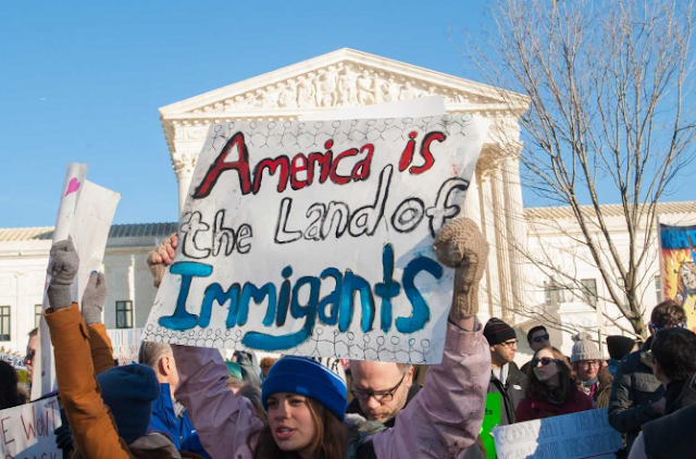U.S. is the land of immigrants