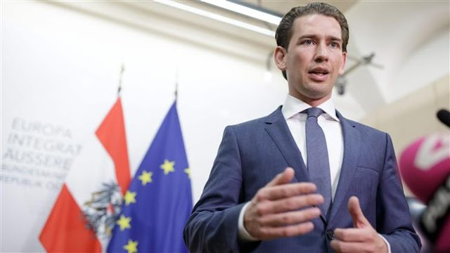 Austria's ruling Social Democratic Party sues Foreign Minister Sebastian Kurz ahead elections