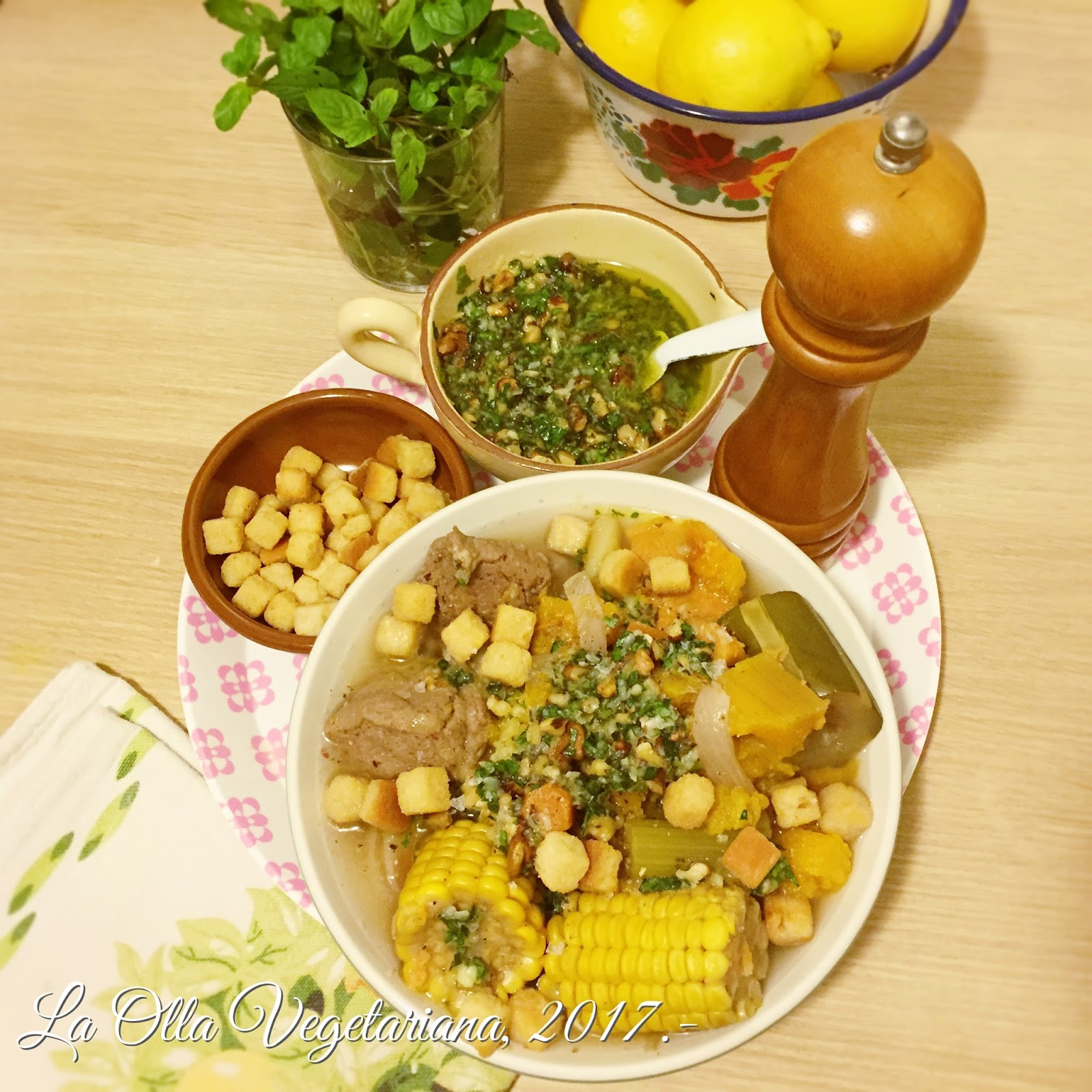La Olla Vegetariana: Puchero de verduras