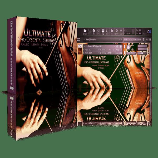 Ultimate Pro Oriental Strings Arabic Turkish Indian KONTAKT Library