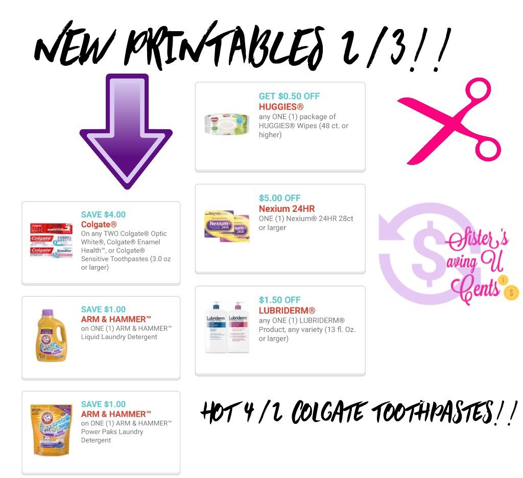 picture regarding Nexium Printable Coupon called Contemporary Printable Discount codes In addition Very hot Print It Already Colgate Coupon!!