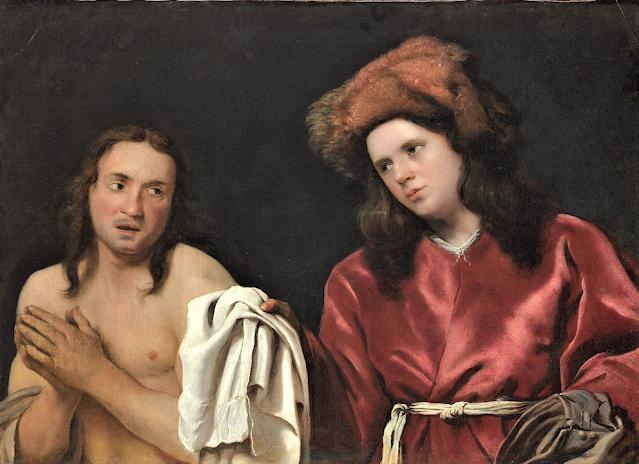 Michael Sweerts (1618-1664) Homme invité à se sécher Collection privée