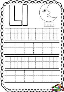 trazos de letras para preescolar pdf