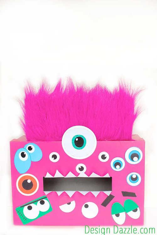 DIY Monster Valentine Box 6   Design Dazzle