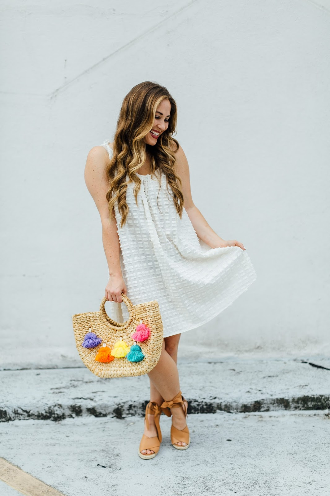 The Perfect Summer Wedges by fashion blogger Walking in Memphis in High Heels
