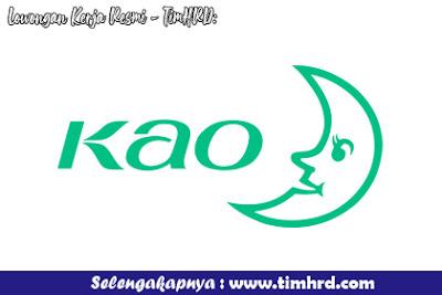 Lowongan Kerja Resmi PT. KAO Indonesia