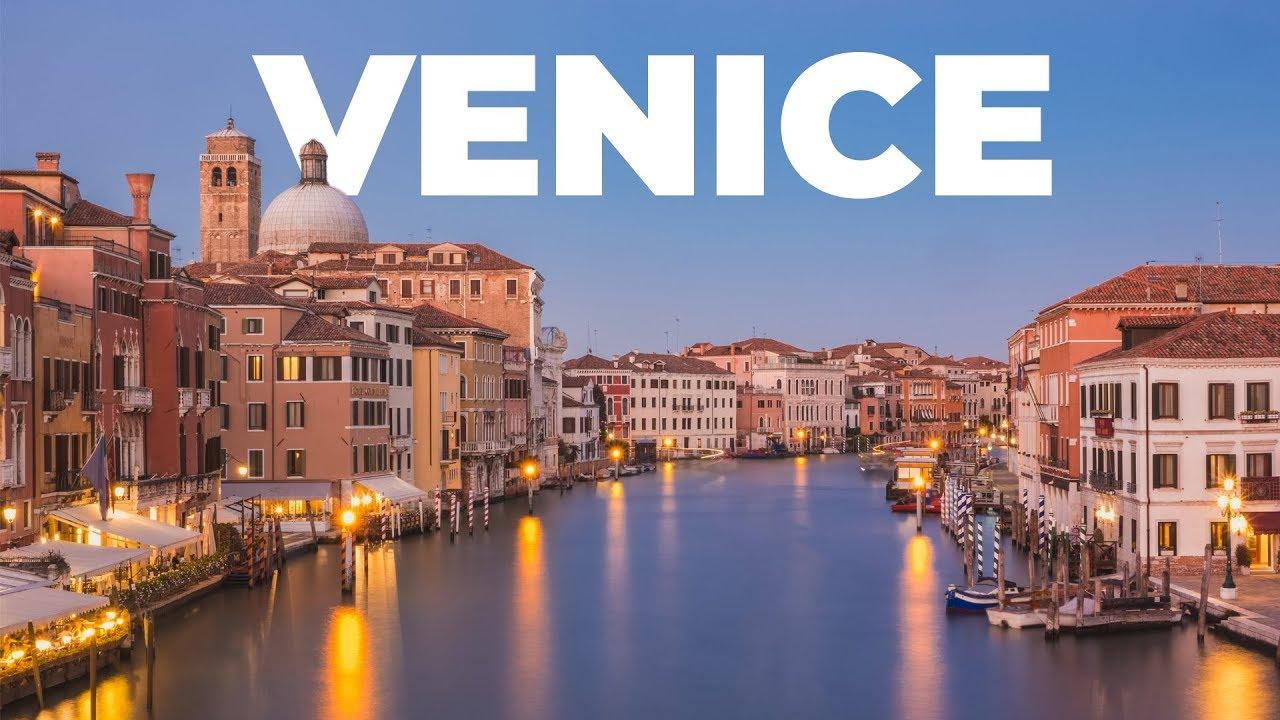 Венеция, город каналов в Италии