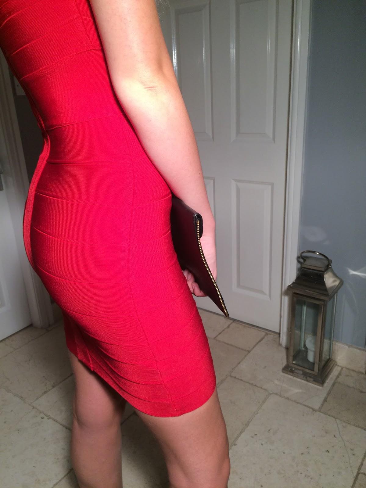 Lana Nude Rayon Lattice Bandage Dress | Miss G Couture