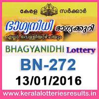 http://www.keralalotteriesresults.in/2017/01/BN-272-live-bhagyanidhi-lottery-result-13-01-2017-kerala-lottery-results.html