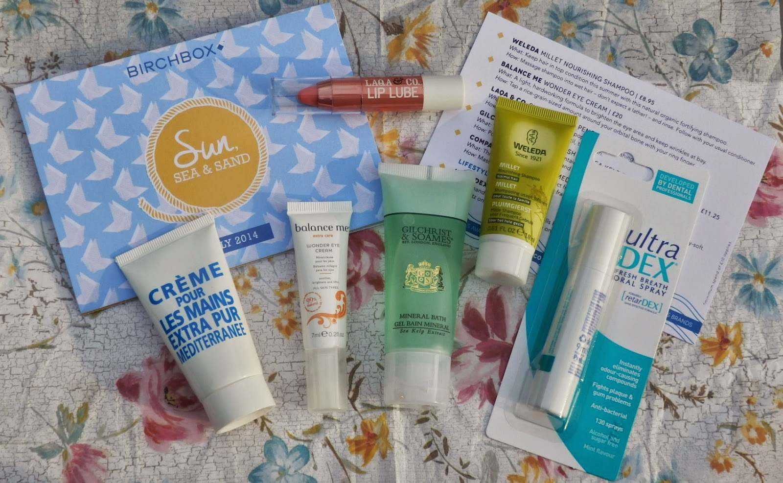 Birchbox Review - July 2014