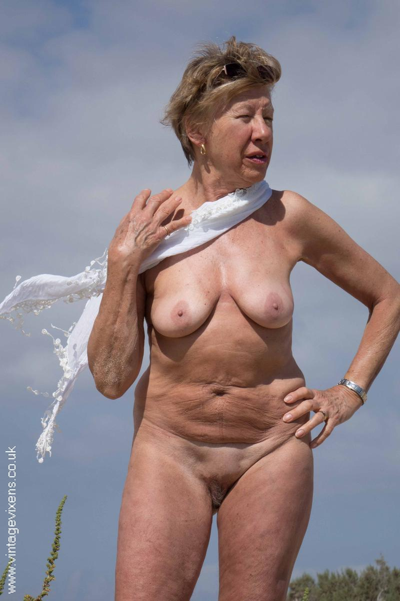 Beach nude mature-8375