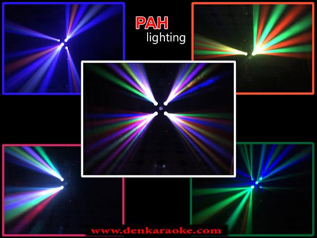 Khả năng quét rộng, đèn LED sân khấu Corona phủ nhiều tia hiệu ứng đặc sắc như đang nhảy múa với âm nhạc
