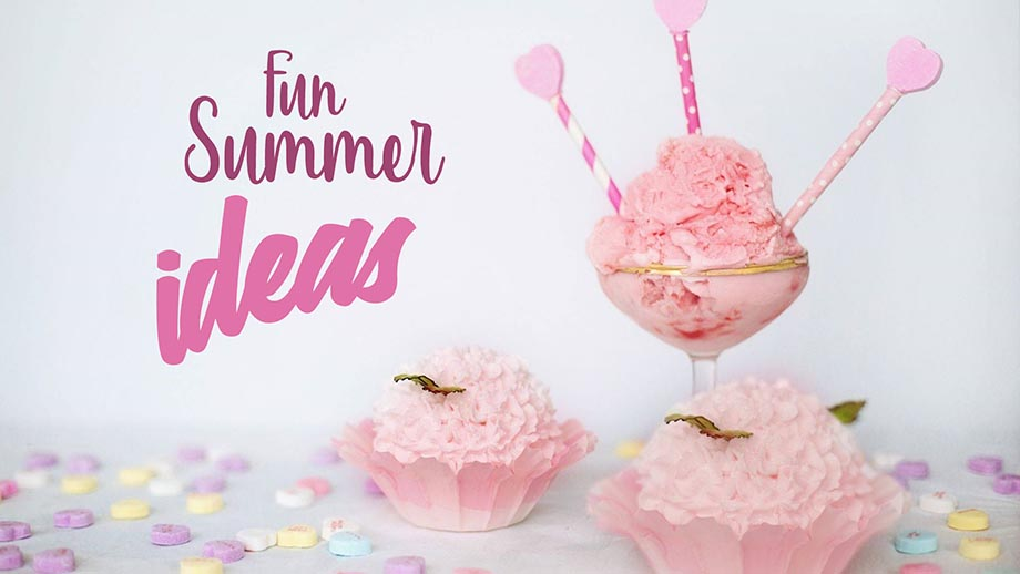 5 Elements for Effective Social Media Images, ice cream summer