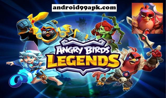 لعبة Angry Birds Legends v3.0.0 كاملة بحجم 449 ميجابايت للأندرويد