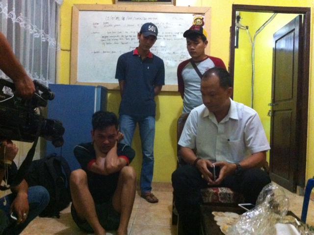 Ingin Punya Hp Aprizal Curi Dikantor Polisi
