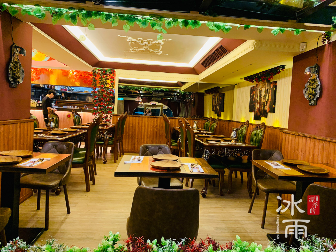 印渡風情|印度料理餐廳|內部用餐區
