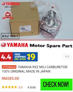 gambar beli karburator rxz