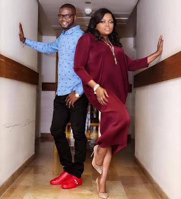 Funke Akindele and husband JJC Skillz photos