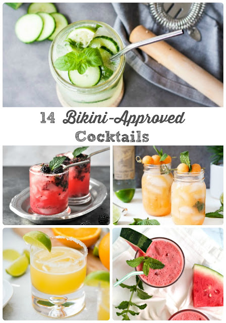 Get your drink on with less guilt with this collection of tasty low calorie cocktails.