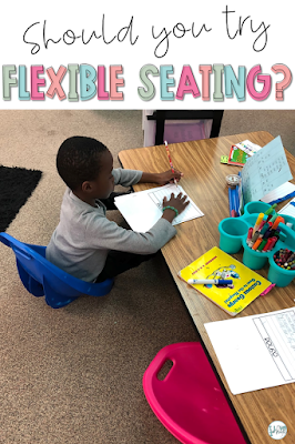 flexible seating first grade