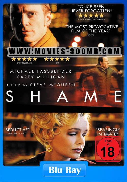 Shame 2011 BRRip 480p 300MB Poster