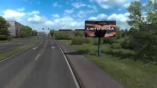 ets 2 real advertisements v1.3 screenshots, latvia 5