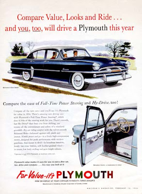 1954 Plymouth Belvedere Station Wagon Original 2-Door Classic   1954 Plymouth Belvedere Gas Mileage