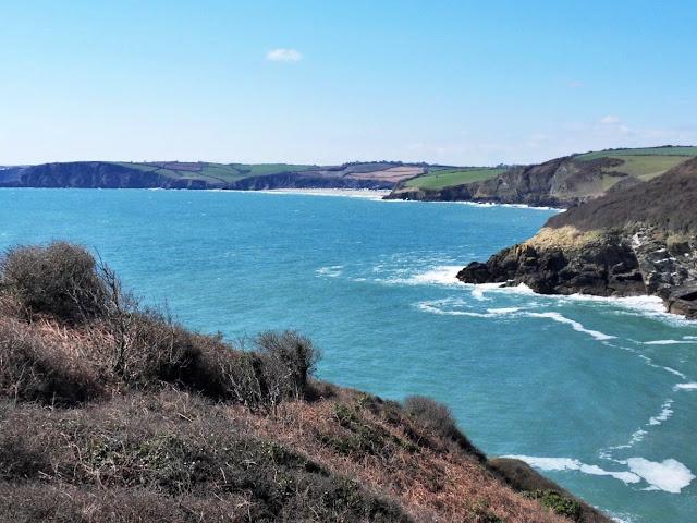 coastal path in Cornwall