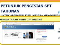 Download Cara Mudah Pengisian SPT Pajak Tahunan Bagi PNS Secara Online