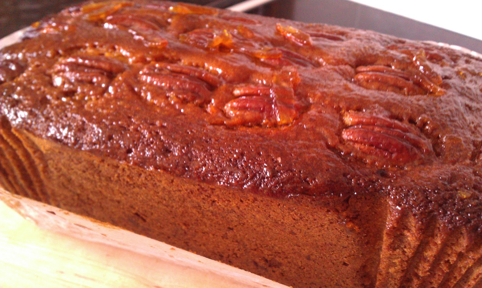 Marmalade Loaf Cake Recipes: Anne's Kitchen: Pecan And Marmalade Loaf Cake